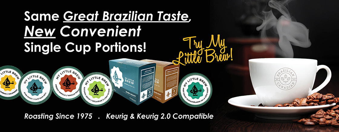 Same Great Brazilian Taste, New Convenient Single Cup Portions - Roasting Since 1975, Keurig & Keurig 2.0 Compatible