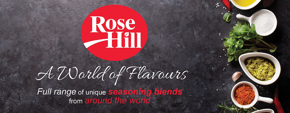 Rose Hill - A world of flavours - Full range of unique seasoning blends from around the world