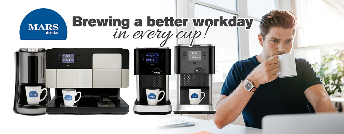 MARS Drinks - Brewing a better workday in every cup!